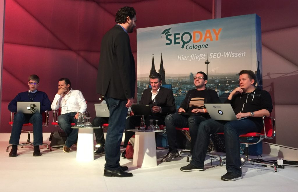 IIlustre Runde beim SEODay Super Panel